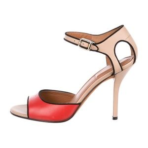 GIVENCHY - Leather High-Heel Sandals